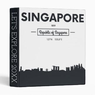 Singapore, China | City Coordinates Binder