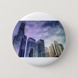 Singapore City 2 Inch Round Button