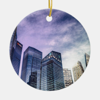 Singapore City Ceramic Ornament