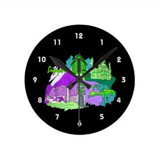 singapore city image 4.png wall clocks