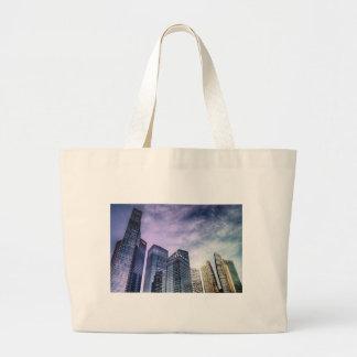 Singapore City Large Tote Bag