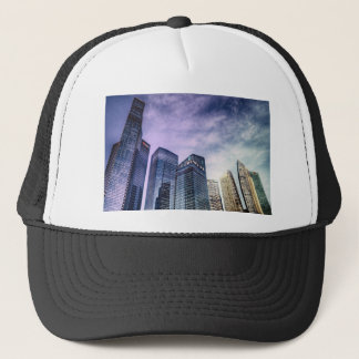 Singapore City Trucker Hat