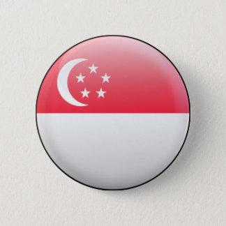 Singapore Flag 2 Inch Round Button