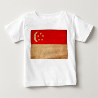 Singapore Flag Baby T-Shirt