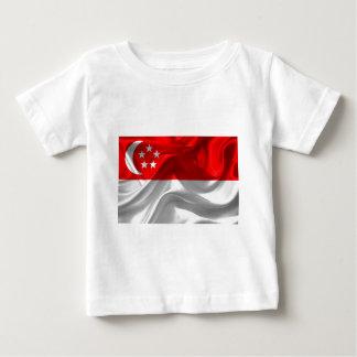 singapore-Flag Baby T-Shirt
