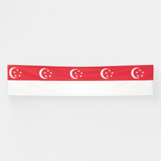 Singapore Flag Banner