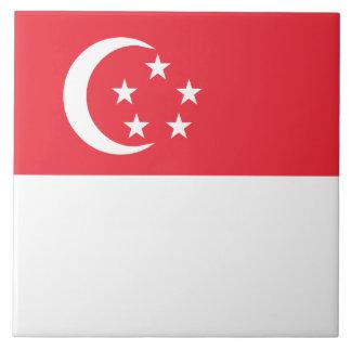 Singapore Flag Ceramic Tiles
