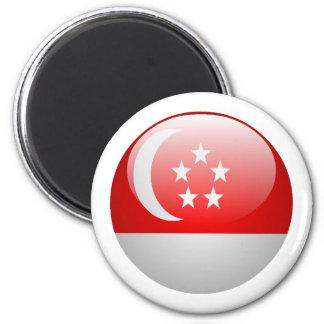 Singapore Flag Magnet