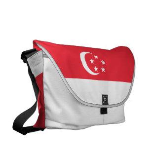 Singapore Flag Messenger Bag