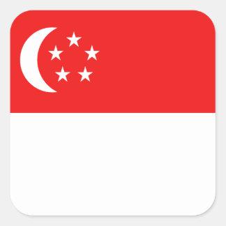 Singapore Flag Sticker