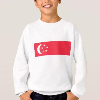Singapore Flag Sweatshirt