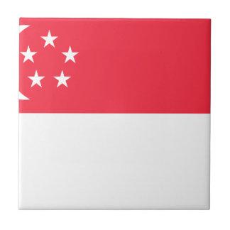 Singapore Flag Tile