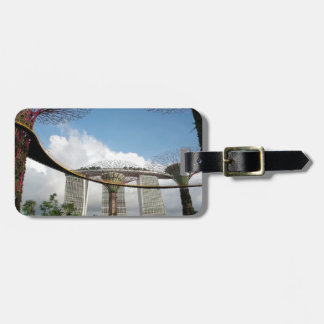 Singapore - Garden By The Bay and Marina Bay Sands Luggage Tag