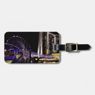 Singapore Helix bridge Luggage Tag
