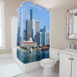 Singapore image for Shower Curtain