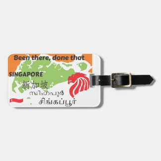 Singapore Luggage Tag