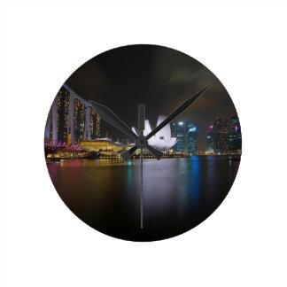 Singapore-Marina Bay Wall Clock