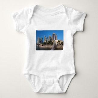 Singapore- Merlion Park Baby Bodysuit