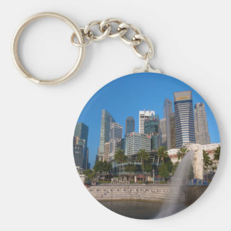 Singapore- Merlion Park Keychain