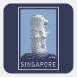 Singapore Merlion Sticker