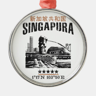 Singapore Metal Ornament