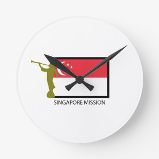 SINGAPORE MISSION LDS CTR ROUND CLOCK
