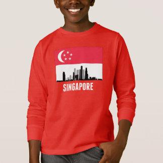 Singapore Singaporean Flag T-Shirt