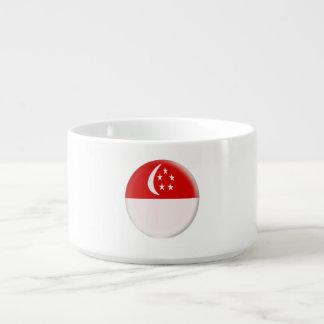 Singapore Singapura Singaporean Flag Bowl