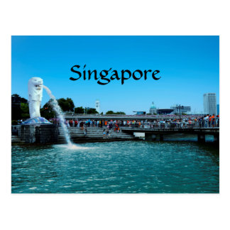 Singapore: the lion city postcard