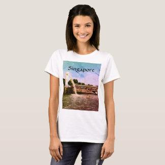 Singapore: the lion city tshirt