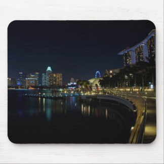 Singapore Walkway by the Bay Mouse Pad