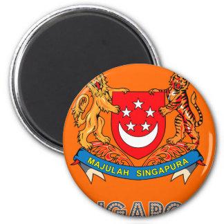 Singaporean Emblem Magnet