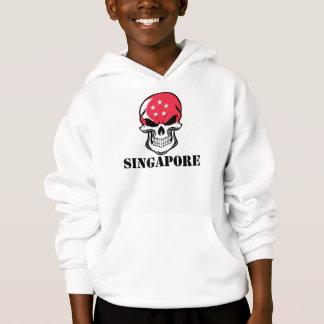 Singaporean Flag Skull Singapore