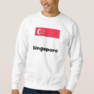 Singaporean Flag Sweatshirt