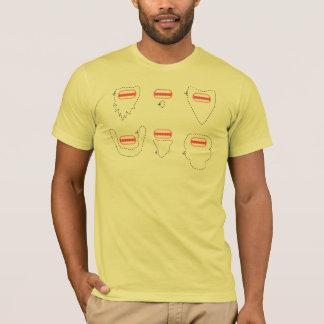 Singe barbu t-shirt