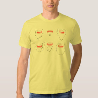 Singe barbu tee-shirt