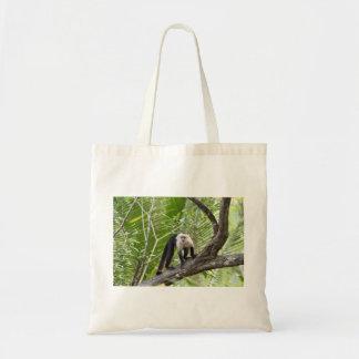 Singe dans la jungle sac en toile budget