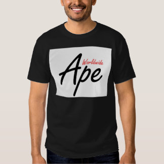 Singe dans le monde entier t-shirts