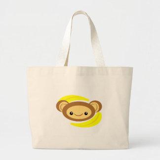 Singe de banane sacs en toile