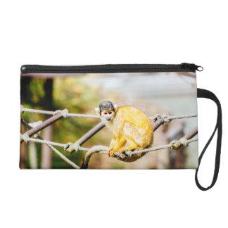 Singe-écureuil - photographie animale sac à main avec dragonne