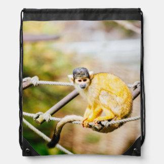 Singe-écureuil - photographie animale sac à dos