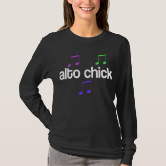 Singer Alto Chick T-Shirt