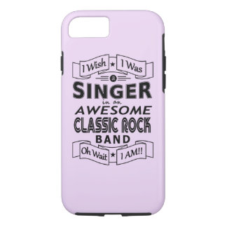 SINGER awesome classic rock band (blk) iPhone 8/7 Case