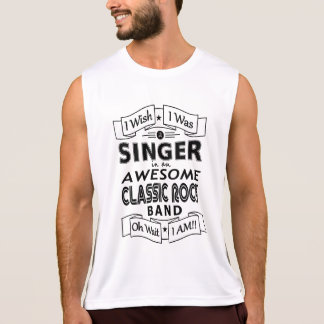 SINGER awesome classic rock band (blk) Tank Top