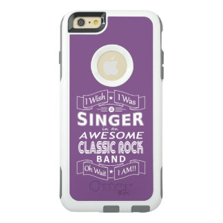 SINGER awesome classic rock band (wht) OtterBox iPhone 6/6s Plus Case