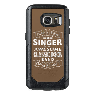 SINGER awesome classic rock band (wht) OtterBox Samsung Galaxy S7 Case