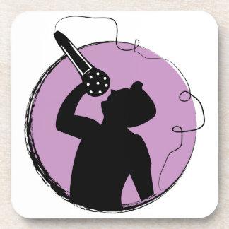 Singer Beverage Coaster