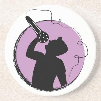 Singer Beverage Coasters