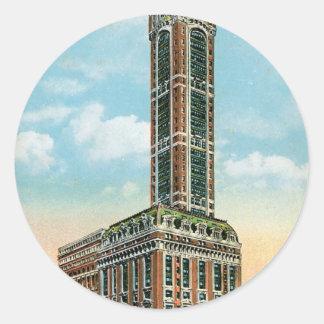 Singer Building New York City Sticker