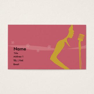 Singer card